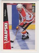 1996-1997 Upper Deck Collector's Choice #41 Zarley Zalapski Calgary Flames