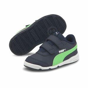 Puma Stepfleex 2 SL VE Inf Kinder Baby Schuhe Sneaker 192523 Blau Grün
