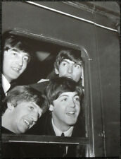 THE BEATLES POSTER PAGE . 1964 WATERLOO TRAIN STATION LONDON . 13D