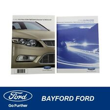 Genuine Ford Falcon FG Sedan Owners Manual Book Kit