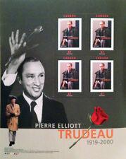 Pierre Trudeau Commemorative Stamp Set