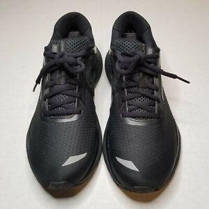 Brooks Womens Triple Black Adrenaline 20 GTS XX Running shoes 1202961B040 sz 10