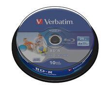 Verbatim 43804 - Bd-r SL Datalife 25gb 10pk