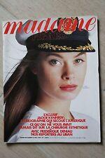 Madame Figaro N°13918 1989 // Patrick Dupond Jackie Kennedy