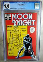 Moon Knight #19 Marvel 1982 CGC 9.8 NM/MT White Pages Comic N0017
