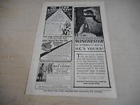 1908 MAGAZINE AD #A4-104 - WINCHESTER RIFLE