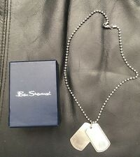 Ben Sherman Chain Silver Stainless Steel