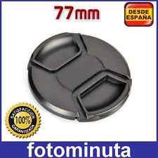 Tapa Objetivo 77mm para Sigma 17-50 mm 2.8 EX DC OS HSM y CANON NIKON Compatible