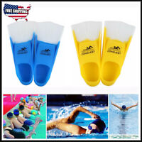 Adults Silicone Snorkeling Diving Swimming Training Gel Swim Fins Flippers S-XXL