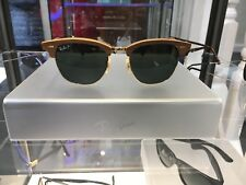 BRAND NEW Ray-Ban Clubmaster M RB 3016-M 1181/58 size 51x21 Polarised sunglass
