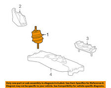 Chevrolet GM OEM 10-15 Camaro-Engine Motor Mount/Torque Strut 92249010