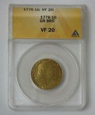 1776 Great Britain Gold Guinea ANACS VF 20 #116781JR