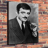 "Classic Horror Gomez, Addams Family Canvas A1.30""x20""~Deep 30mm Frame"
