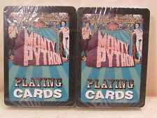 2 DECKS OF MONTY PYTHON PLAYING CARDS SEALED
