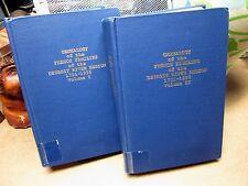 Genealogy French Families Detroit River Region 2 volume book 1701-1936 revision