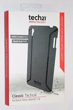 New OEM Tech21 Classic Tactical Sony Xperia Z3 Case Black +free screen protector