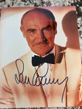 James Bond Sean Connery 007 SIGNED PHOTO Autograph GA COA Tux