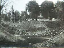 ww1 Guerre PHOTO 14-18 destruction du pont de Rethel bombardement 1918