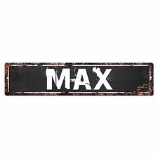 SFND0255 MAX MAN CAVE Street Chic Sign Home man cave Decor Gift Ideas