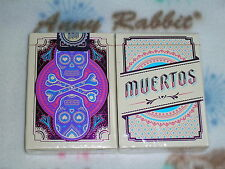 1 deck Muertos Celebration-Day of the Dead Playing Cards,Limited Rare S102246-14