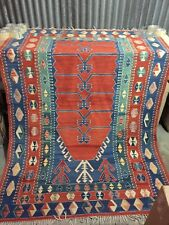 "VTG Decorative Turkish Anatolian Oushak Ushak Obruk Kilim prayer Rug 59"" x 86"""