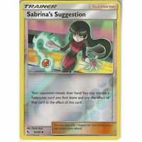 65/68 Sabrina's Suggestion | Uncommon Reverse Holo Pokemon Hidden Fates Trainer
