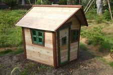 Brand New Outdoor Play House Wooden Cubby House with Windows