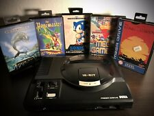 SEGA Mega Drive + 2 Controller + 7 Spiele