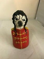 Collectible figurines: Famous Character Dog Bust  MICHAEL JACKSON