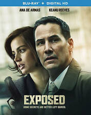 Exposed [Blu-ray + Digital HD] Keanu Reeves, Mira Sorvino, Ana de Armas, Laura