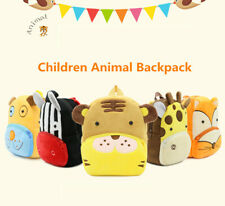 Kid Backpack School Bag Children Boy Girl 3D Cartoon Animal Rucksack
