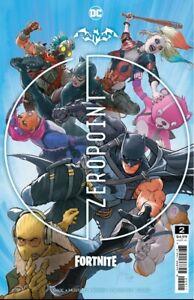 BATMAN FORTNITE ZERO POINT # 2 Comic book # 2 DC COMICS CODE E-DELIVERY