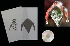 Airbrush Schablone Step by Step 366 Joker