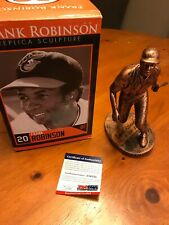 BALTIMORE ORIOLES FRANK ROBINSON AUTO SCULPTURE LIMITED EDITION 43/50 PSA DNA