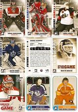 2007-08 ITG In The Game Between The Pipes BTP Complete 100-Card Set