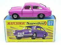 Matchbox Superfast No.67b Volkswagen 1600TL In 'G2' Box (SMALL WHEEL ARCHES)