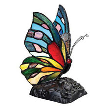 Butterfly Tiffany Style Handmade Glass Table / Desk Lamps - Christmas Gift