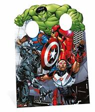 Star Cutouts Marvel Avengers Assemble Child Size Stand In 130cm tall and 95cm