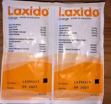 LAXIDO Orange Sugar Free Powder For Oral Solution (Date 09/2021) 8 x Sachets
