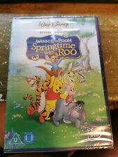winnie the pooh springtime with roo walt disney  dvd region 2 new sealed