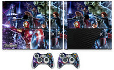 Avengers 260 Vinyl Decal Skin Sticker for Xbox360 Slim E and 2 controller skins