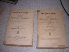 1930.cursus philosophicus thomisticus / Reiser.Thomas d'Aquin.latin.philosophie