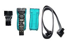 Atmel AVR Programmiergerät USBasp mit Gehäuse, 6 Pin ISP_Adapter, 3,3V & 5V