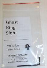 NEW Hi-Point Pistol Hand Gun Ghost Ring Sight Kit - 9MM, 380 ACP, 40 S&W, 45 ACP