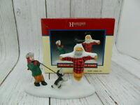 "Lemax Christmas Hearthside Village Porcelain ""The Forgotten Summer"" 1997"
