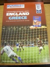06/10/2001 England v Greece [At Manchester United] . Bobfrankandelvis (aka Footy