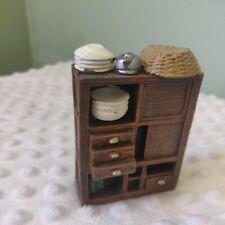 Korean Vintage Kitchen Shelves Miniature Decorative Collectible Item