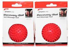 "2 NEW 3"" Spiky Massage Ball Foot Massage Acupressure Back Neck Plantar Fasciitis"