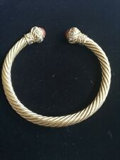 Deciratice Stones By Dt Etruscan Goldtone Bangle With