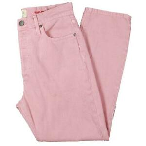 AO.LA by Alice + Olivia Womens Pink High Rise Girlfriend Jeans 30  8212